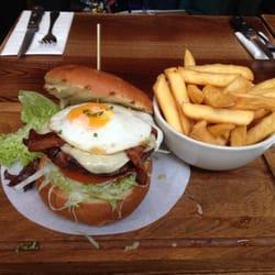 Burger bœuf + frites
