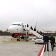 Boarding Air Berlin flight from Terminal…