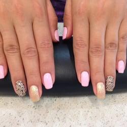 Kayla Nails - Shellac Manicure with design - San Jose, CA, United