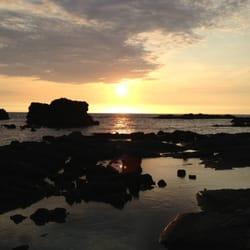 Kuki'o Beach - Hawaii, HI, États-Unis. Nice place to catch the sunset