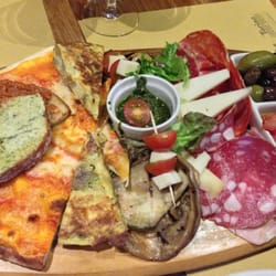 Fantastic! Love the antipasti platter.…