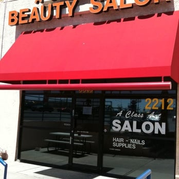 A class act beauty salon hairdressers westside las for A class act salon