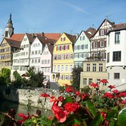 Stocherkahn, Tübingen, Baden-Württemberg, Germany