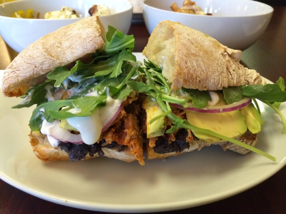 ... Cafe - East Chicago, IN, United States. The Tinga chicken sandwich