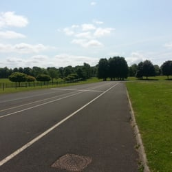 Bellahouston cycle track, also great for…