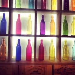 Ooooh les jolies bouteilles du Wine&Soul…
