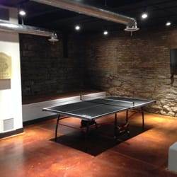 Inbound Marketing Agents - Nothing like taking  a break with a hard core game of ping pong in the Inbound Marketing Agents game room. - Nashville, TN, Vereinigte Staaten