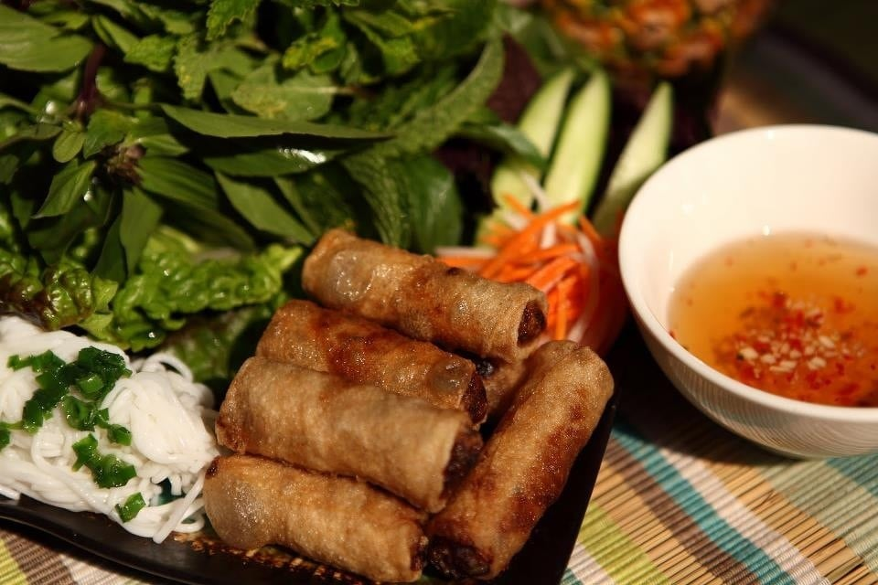 ... York, NY, United States. Cha Gio ( Vietnamese spring rolls ) Yummy
