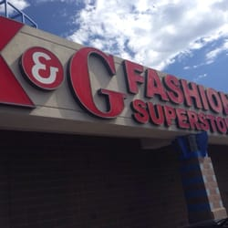 K & G Fashion Superstore logo