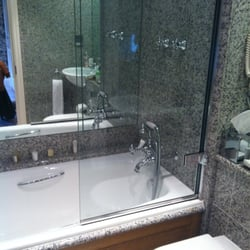 bathroom with penhaligons shower products!