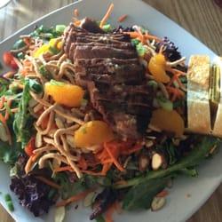 Soy ginger steak salad by San T.