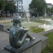 Wasserspiele Vogelschwarm, Hagen, Nordrhein-Westfalen