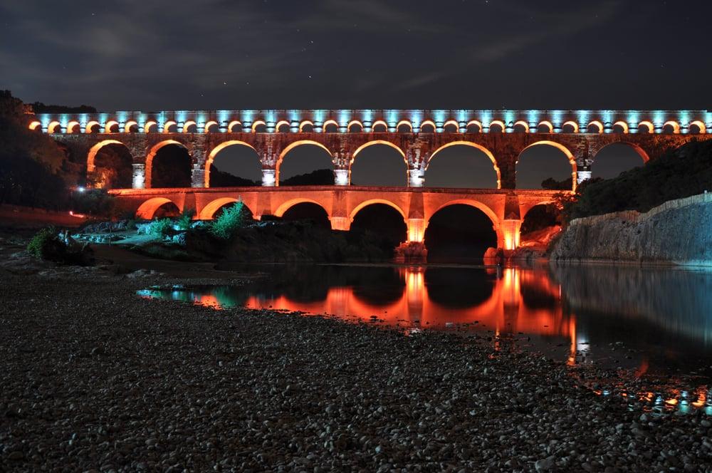 Pont du gard illumin source d delabre yelp - Office de tourisme du pont du gard ...