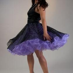 Abschlussball Petticoat Kleider aus…