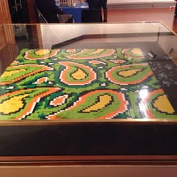 Paisley pattern at Brick City exhibit…