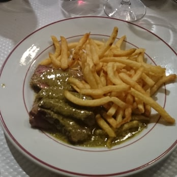 Steak with frites