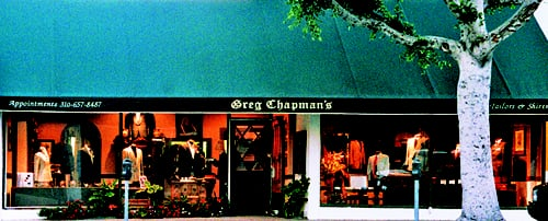 Greg Chapman's Executive Tailored Clothes - By appointment. 147 South Robertson Boulevard, Beverly Hills, CA 90211 - Beverly Hills, CA, United States