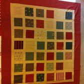 Quilt I made on the workshop  yesterday so happy