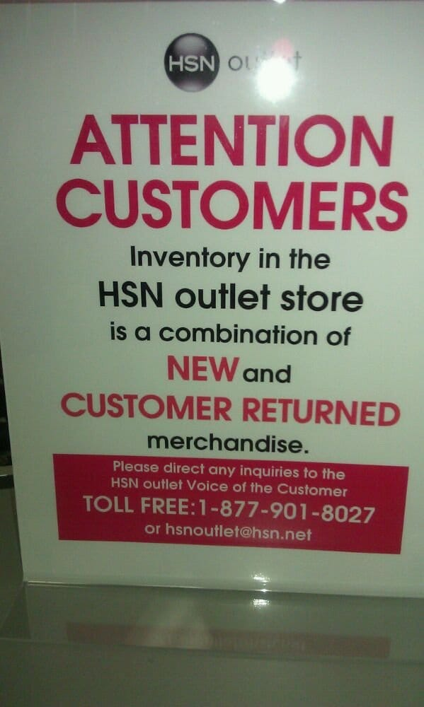 HSN Outlet - CLOSED - Outlet Stores - Horizons West / West ...