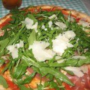 amazing pizza with tomato sauce,…