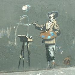 Banksy Graffiti Artist, London