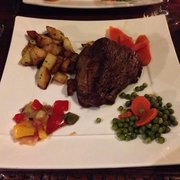 Filet de boeuf on a cold winter night at…