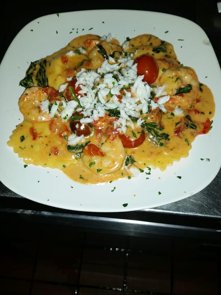 Lobster Ravioli Shrimp Cream Sauce Eatalia ii Lobster Ravioli With Shrimp Crab Cognac Cream Sauce Deptford