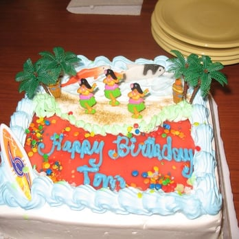 Oahu Bakeries Birthday Cakes