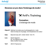 WORK SHOP BY ART FX