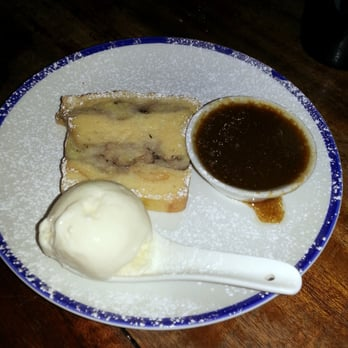 Pub - London, United Kingdom. Rum banana sticky toffee bread pudding ...