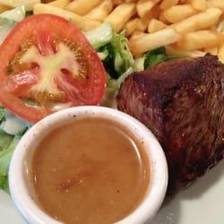 Bistec avec sauce de poivre