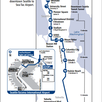 Image Result For Seattle Light Rail Schedule