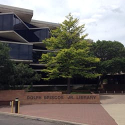 Dolph Briscoe, Jr. Library logo