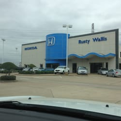 rusty wallis honda car dealers dallas tx reviews