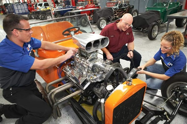 Race Car Mechanic Training
