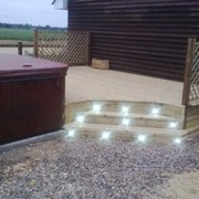 and fitted with deck lights {led} all under £3000
