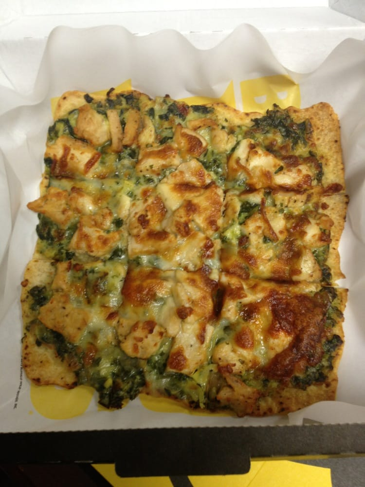 Spinach Artichoke Chicken Flatbread Spinach And Artichoke Chicken