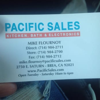 Pacific Sales Kitchen Bath Electronics 13 Photos 54 Reviews Appliances 2750 E Saturn