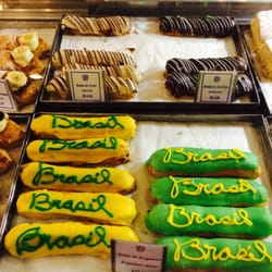 Cleverly decorated Brasil pastries!