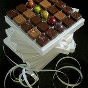 Quelques chocolats parmi le large choix…