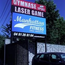 Entrée du Laser Game Marseille