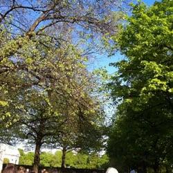 Im Hofgarten auch schöne Plätze,…