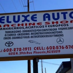 deluxe auto machine shop