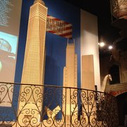 Ripley's Believe It or Not! Times Square - Made out of thousands of matchsticks. Impressive work - New York, NY, Vereinigte Staaten