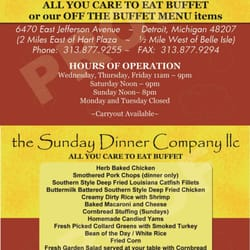sunday dinner company closed 14 photos soul food detroit mi united states reviews yelp. Black Bedroom Furniture Sets. Home Design Ideas