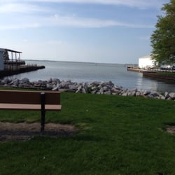 View of our bench for New sandusky fish company