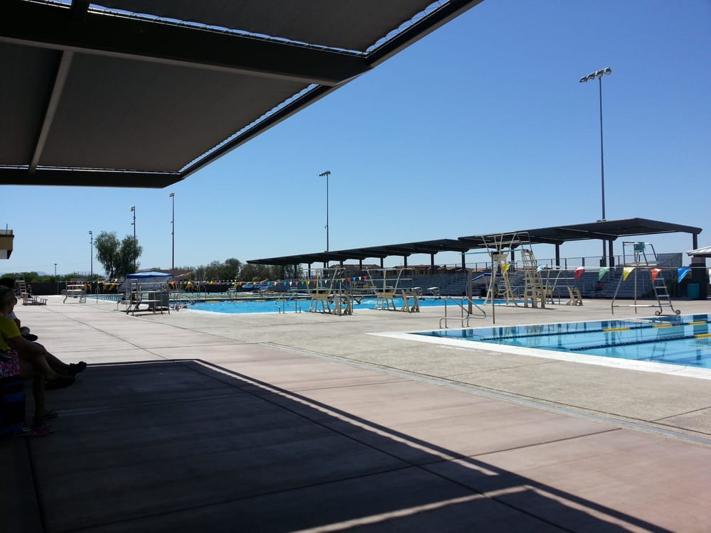 Skyline aquatic center swimming pools mesa az united for Pool fill in mesa az