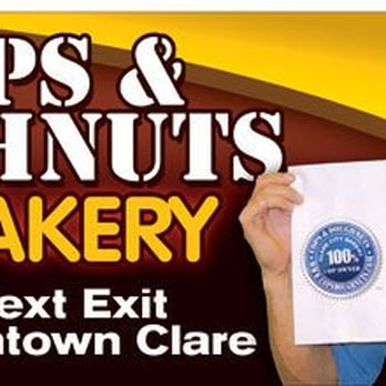 cops doughnuts clare city bakery clare mi yelp