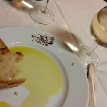 Olive oil with a side of bread!