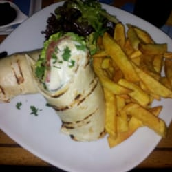 Vegetarischer Wrap... Super lecker!